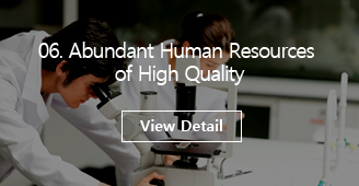 06 Abundant Human Resources of High Quality [View Detail]